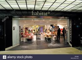 Tottenham Court Road Interior Shops Entrance To Habitat Store In Tottenham Court Road With Christmas