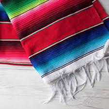 Serape Table Runner Best Woven Table Runner Products On Wanelo