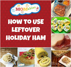 baked ham leftover recipes