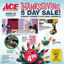 ace hardware s thanksgiving 5 day sale ad is here black friday 2017