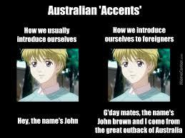 Accent Meme - australian accents by recyclebin meme center