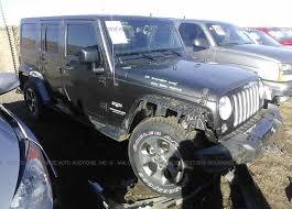 jeep rubicon cer 1c4bjweg8gl199953 salvage certificate white jeep wrangler