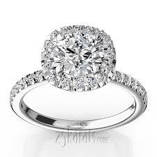 engagement ring with halo halo engagement ring 2017 wedding ideas magazine