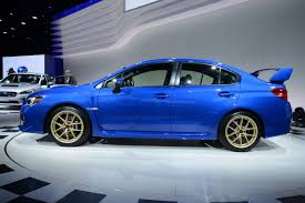 subaru gold subaru wrx sti returns to the uk priced from 28 995 4k lower