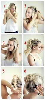 easy to keep hair styles knotted updo tutorial hairstyles and beauty tips hair