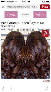 25 best hairstyle ideas for brown hair with highlights dark red