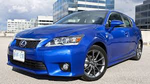 lexus ct vancouver in pictures 10 affordable luxury cars the globe and mail