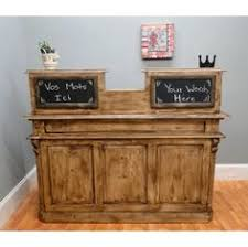 Shabby Chic Reception Desk Reception Desk Cash Wrap Counter Point Of Sale Checkout Retail
