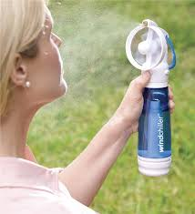 handheld misting fan windchiller handheld personal misting fan gifts for gardeners