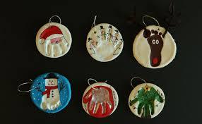 diy ornaments create memories with salt dough handprints