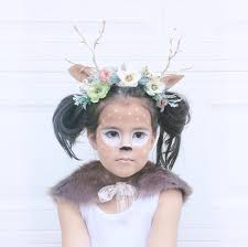 Halloween Costume Deer Fawn Costume Awesome Face