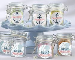 nautical baby shower decorations personalized glass favor jars kate s nautical baby shower