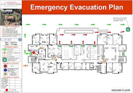 evacuation diagram gallery comsaf