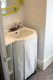Homemade Curtains Without Sewing 10 Easy Diy Sink Skirts