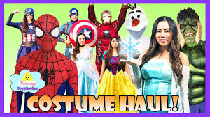 halloween 2016 costume haul pretend play dress up make up fashion
