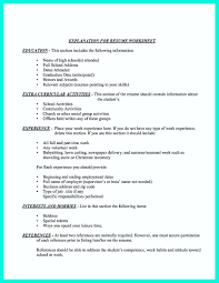 Resume Dates Making Simple College Golf Resume With Basic But Effective Information