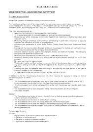 residential housekeeper chemist objectives resume