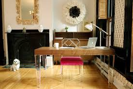 deco home interior deco home office with hardwood floors metal fireplace