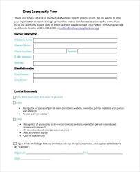 sponsorship form lukex co