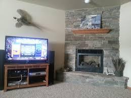 stone fireplace tv mount fishingbuddy