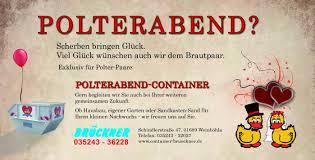 container brückner weinböhla containerdienst baustoffe abbruch - Polterabend Flyer
