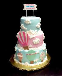 air balloon baby shower cake cakecentral com