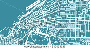 map of cleveland ohio map stock images royalty free images vectors
