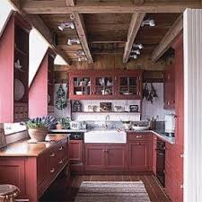 red cabinets in kitchen red cabinets foter
