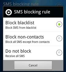how to block texts on android block ignore incoming text messages from annoying persons on android