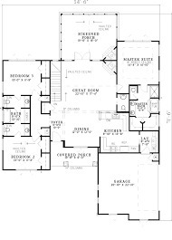 Tudor Floor Plans by Canyon Creek Rustic Ranch Home Plan 055d 0821 House Plans And More