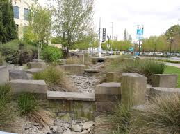 Landscaping Portland Oregon by This Is The Rain Garden At The Oregon Convention Center Portland