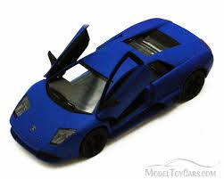 lamborghini diecast model cars lamborghini murcielago lp640 blue kinsmart 5370d 1 36 scale