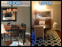 colors to paint a dining room diy striped walls a great home office design idea miss bizi bee