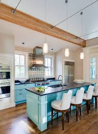 paint ideas for kitchen with blue countertops 31 awesome blue kitchen cabinet ideas home remodeling