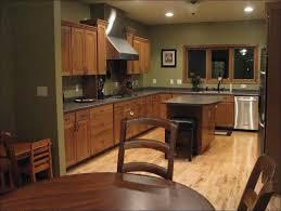 kitchen color schemes with dark oak cabinets trendyexaminer