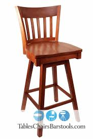 Wood Bar Chairs Top Cherry Wood Swivel Bar Stool Foter In Wood Bar Stools With