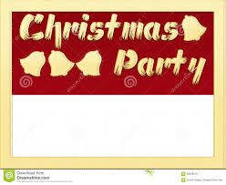 christmas party invitation stock illustration image 58399573