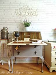 Shabby Chic Writing Desk gorgeous french inspired shabby chic writing bureau painted in