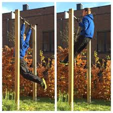 how to build a backyard pull up bar diy activate the beast