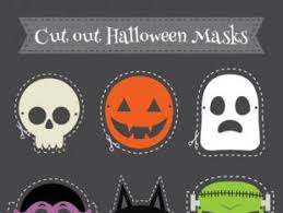 scary halloween cut box free vectors ui download