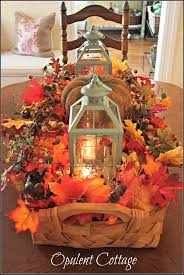 best diy fall centerpiece ideas and decorations for autumn with