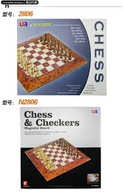 classic wood champions magnetic chess set board game wooden chess