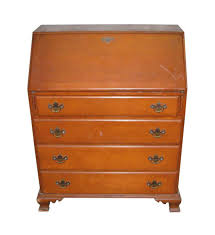 Secretary Office Desk by Vintage Maple Secretary Desk Olde Good Things