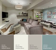Suggested Paint Colors For Living Room by Basement Color Palette Great Color Palette For Basement