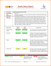 manager weekly report template munster high school guidance homework help how to write status