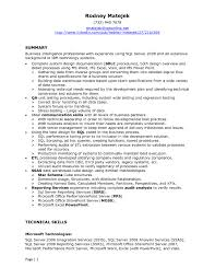 Job Developer Resume by Ssas Developer Resume Free Resume Example And Writing Download