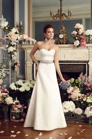 sweetheart satin wedding dress style 2170 mikaella bridal