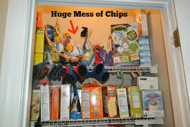 get those bags of chips off the pantry shelf a new way to