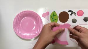 how to make elephant using paper plate youtube