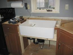 nice apron front sink installation gardenweb forums home design